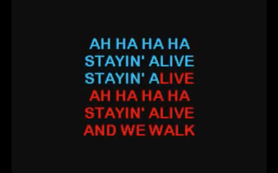 staying-alive-karaoke
